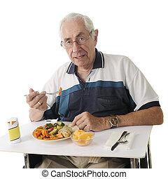 repas, hôpital