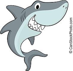 requin, heureux