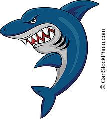 requin, mascotte