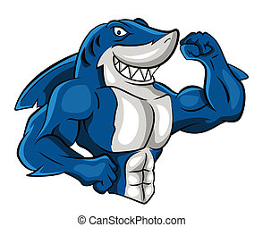 requin, muscle