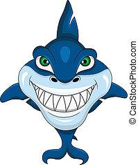 requin, sourire