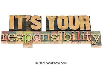 responsabilité, il, ton