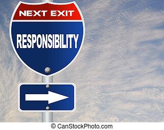 responsabilité, panneaux signalisations
