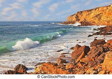 ressac, océan, puissant