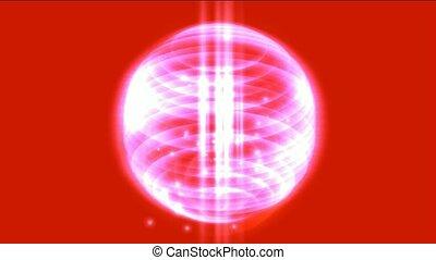 ressorts, annulus, lumière, &, énergie