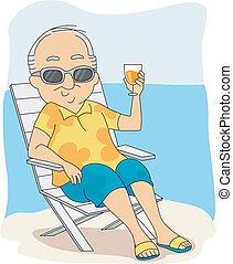 retraite, vacances