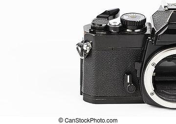 retro, appareil-photo.