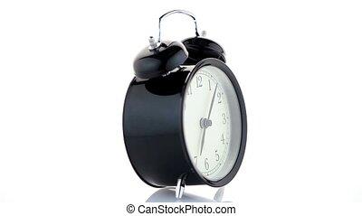 reveil, vieux façonné, horloge