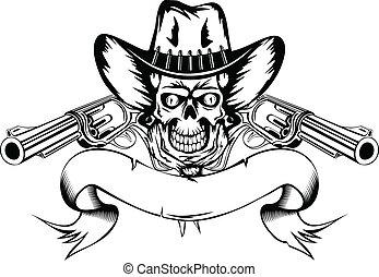 revolvers, cow-boy