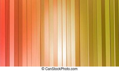 rideaux, style, fond, gradient, moderne, seamless, poly, 3d, clair, animation, colors., propre, loop., orange 2, géométrique, 4k, rouges, bas