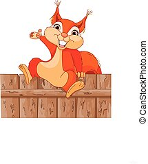 rigolote, écureuil