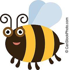 rigolote, abeille