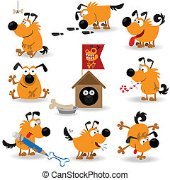 rigolote, chiens, set#2