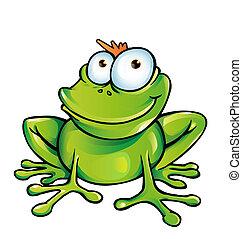 rigolote, grenouille