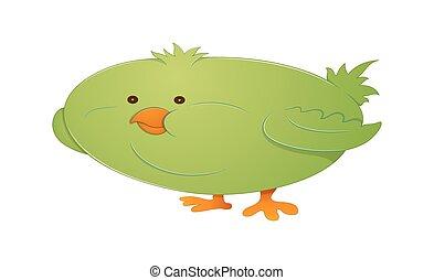 rigolote, oiseau
