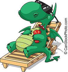 rigolote, relaxation, dragon