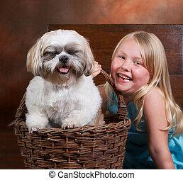 rire bêtement, doggy