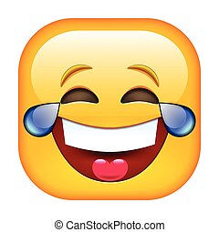 rire, emoticon