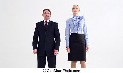 rivalité, ou, equipe affaires
