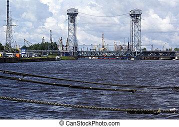 rivière, port
