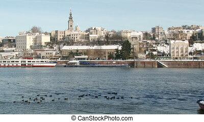rivière, serbie, belgrade