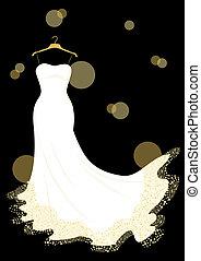 robe, mariage