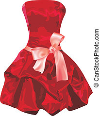 robe, rouges