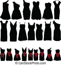 robes, faire la fête