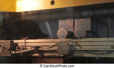 robotique, ligne production, travail