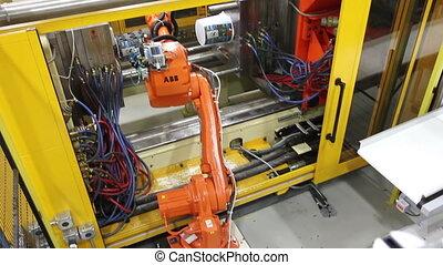 robotique, usine