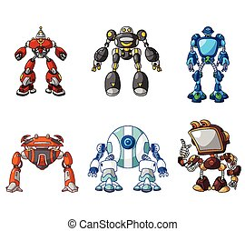 robots, collection