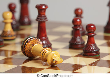 roi, reddition, échecs