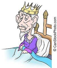 roi, vieux