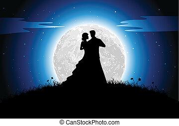 romance, nuit
