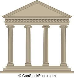 roman/greek, temple
