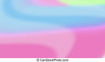 rose, bleu, boucle, seamless, vagues, animation, coloré, lisser, écoulement