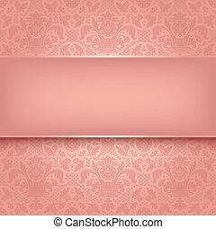 rose, décoratif, tissu, 10, eps, vecteur, fond, texture.