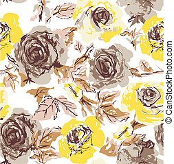 rose, seamless, papier peint
