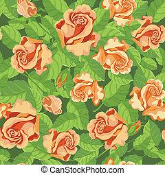 roses, seamless, beatifull