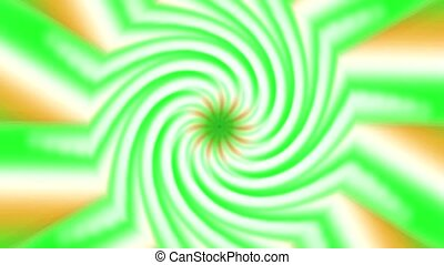 rotation, éolienne, rayon, tourbillon
