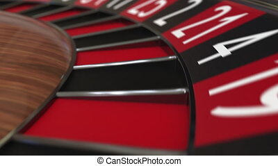 roue, accès, balle, roulette, casino, 13, noir, treize
