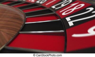 roue, accès, balle, roulette, casino, 26, noir