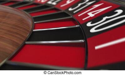 roue, accès, balle, roulette, casino, 28, noir, vingt-huit