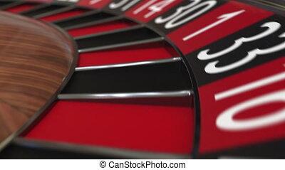 roue, accès, balle, roulette, casino, 29, noir, twenty-nine