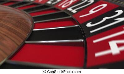 roue, accès, balle, roulette, casino, 35, noir, thirty-five
