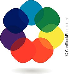 roue, logo, spectre