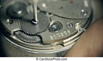 roue, montre