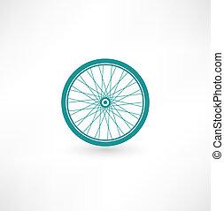 roue, symbole, vélo