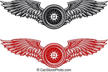 roue, tatouage