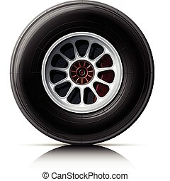 roue, voiture, sports